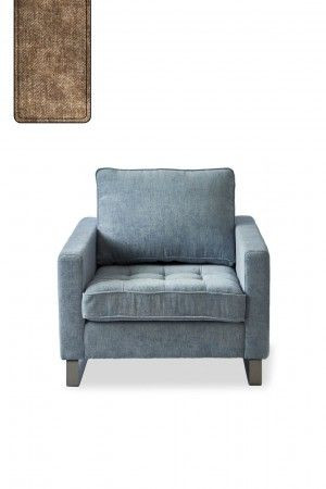 West Houston Armchair, velvet, clay / Rivièra Maison