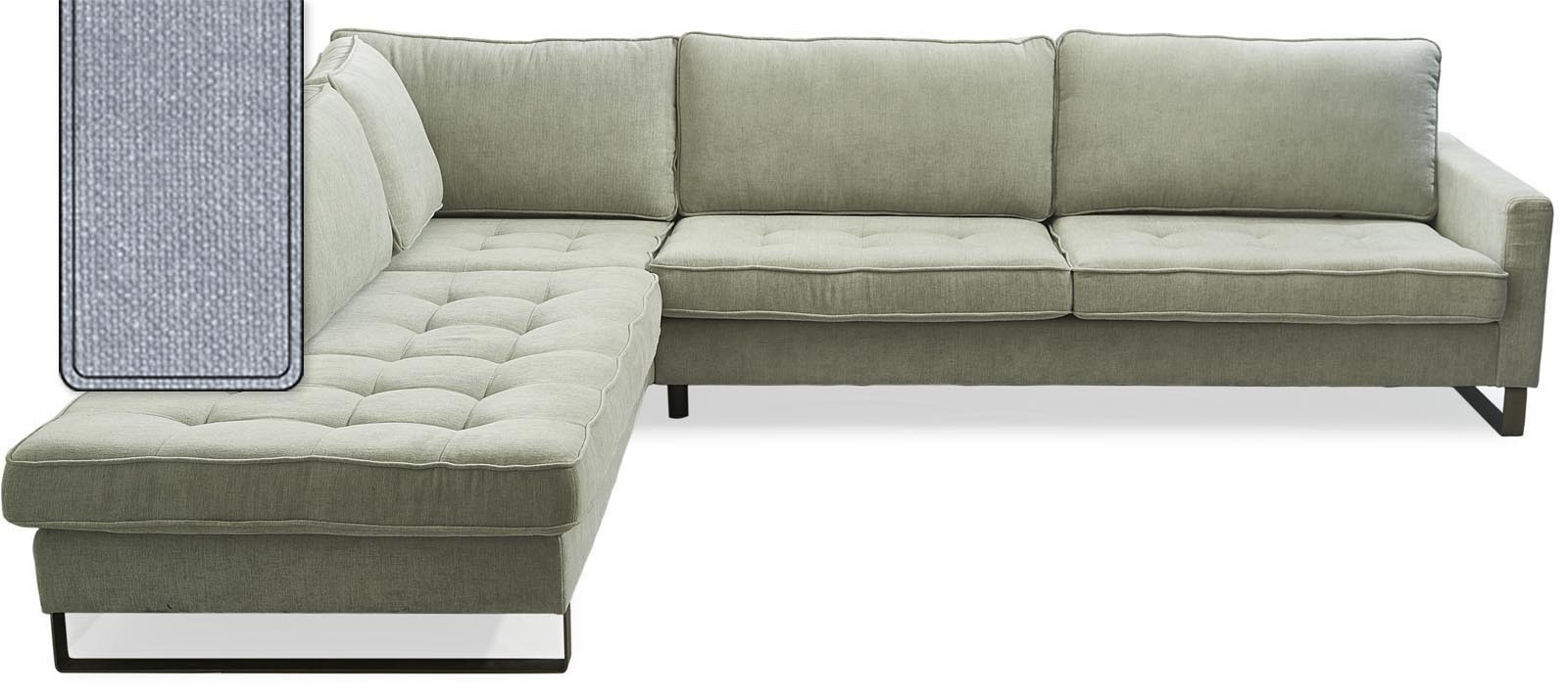 west houston corner sofa chaise longue left cotton blue rivi ra maison. Black Bedroom Furniture Sets. Home Design Ideas
