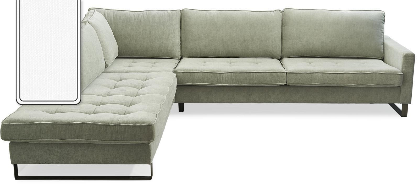 west houston corner sofa chaise longue left cotton white rivi ra maison. Black Bedroom Furniture Sets. Home Design Ideas
