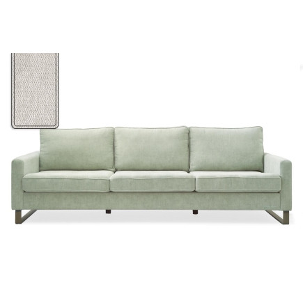 West Houston Sofa 2,5 seater polyester-polyacryl pearl / Rivièra Maison