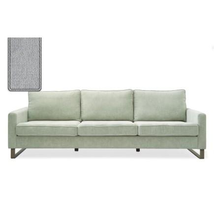 West Houston Sofa 2,5 seater polyester-polyacryl platinum / Rivièra Maison