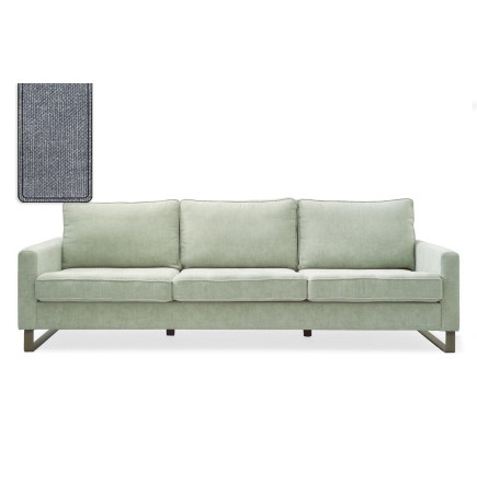 West Houston Sofa 3,5 seater washed cotton blue / Rivièra Maison