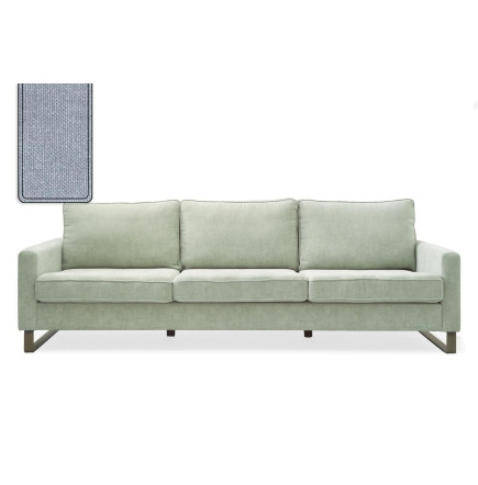 West Houston Sofa 3,5 seater washed cotton ice blue / Rivièra Maison