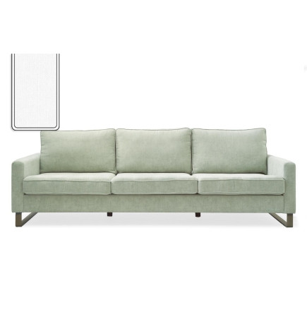 West Houston Sofa 3,5 seater washed cotton white / Rivièra Maison