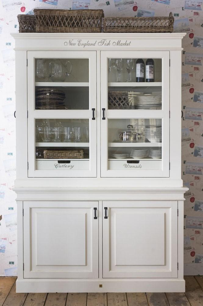 New England Fish Market Cream Cabinet / Rivièra Maison-1