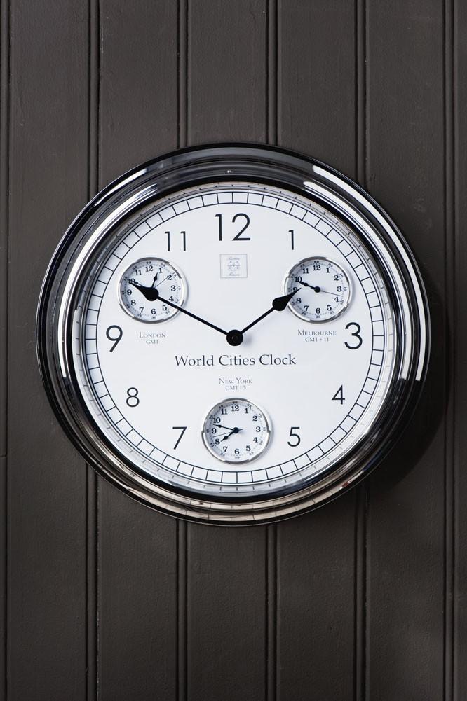 World Cities Clock / Rivièra Maison