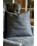 Blake Island University Stripe Pillow Cover 60x60 / Rivièra Maison