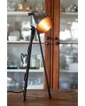 Bricklane Table Lamp steel / Rivièra Maison