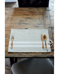 Classic Ribbed Placemat flax / Rivièra Maison
