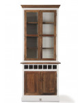 Driftwood Cabinet with Winerack single / Rivièra Maison