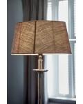 Fabulous Flax Oval Lampshade L / Rivièra Maison