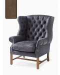 Franklin Park Wing Chair Pellini coffee / Rivièra Maison