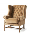 Franklin Park Wing Chair velvet copper / Rivièra Maison