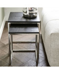 Nomad End Table S2 Black / Rivièra Maison