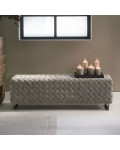 Room 48 Bench fine tweed pebbles / Rivièra Maison
