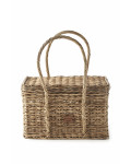 Rustic Rattan Carry On Basket / Rivièra Maison
