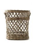 Rustic Rattan Classic Umbrella Basket / Rivièra Maison
