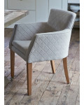 Waverly Arm Dining Chair Linen / Rivièra Maison