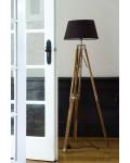 Classic Tripod Lamp teak L / Rivièra Maison