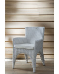 Dining Chair The Hamptons White with Pillow / Rivièra Maison