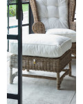 Nicolas Wing Chair Footstool / Rivièra Maison