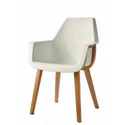 Amsterdam City Dining Armchair Pure White / Rivièra Maison