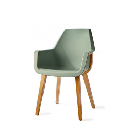Amsterdam City Dining Armchair Soft Green / Rivièra Maison