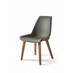 Amsterdam City Dining Chair cloudy grey / Rivièra Maison