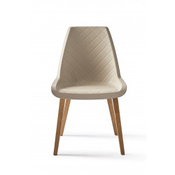 Amsterdam City Dining Chair tree taupe / Rivièra Maison