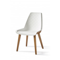 Amsterdam City Dining Chair, pure white / Rivièra Maison