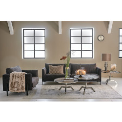Bal Harbour Sofa 3,5 Seater velvet grimaldi grey / Rivièra Maison