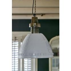 Baltimore Hanging Lamp white M / Rivièra Maison