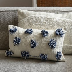 Beach Club Pompom Pillow Cover / Rivièra Maison
