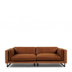 Biltmore Sofa 3,5 Seater leather cognac / Rivièra Maison