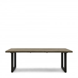Bondi Beach Outdoor Dining Table 220x100 Grey / Rivièra Maison