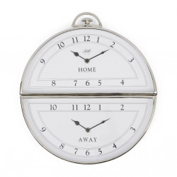 Brooklyn Double Wall Clock / Rivièra Maison