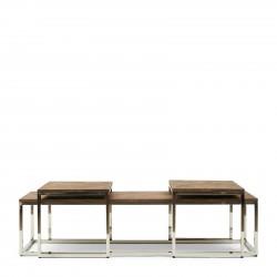 Bushwick Coffee Table Set 3 / Rivièra Maison