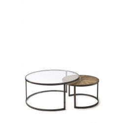 Cameron Coffee Table Set van 2 / Rivièra Maison