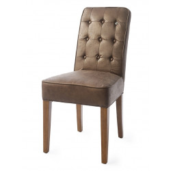 Cape Breton Dining Chair pellini coffee / Rivièra Maison