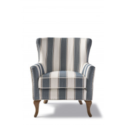 Cavendish Armchair, blue stripe / Rivièra Maison