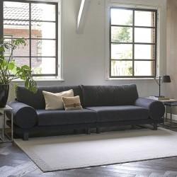 Collins Sofa 3,5 Seater velvet trafalgar grey / Rivièra Maison