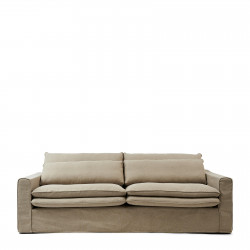Continental Sofa 3,5 Seater oxford weave anvers flax / Rivièra Maison