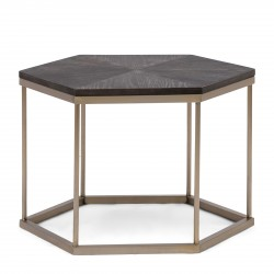 Costa Mesa Hexagon Side Table / Rivièra Maison