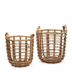 Courageous Chique Basket Natural Set of 2 pieces / Rivièra Maison