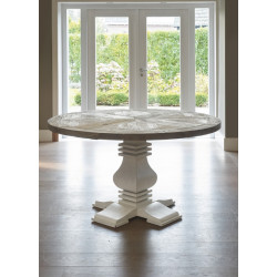Crossroads Round Dining Table 160 / Rivièra Maison-1
