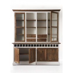 Driftwood Cabinet with Winerack double / Rivièra Maison