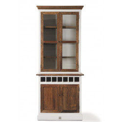 Driftwood Cabinet with Winerack single / Rivièra Maison-1