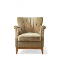East Village Armchair Velvet Forest / Rivièra Maison