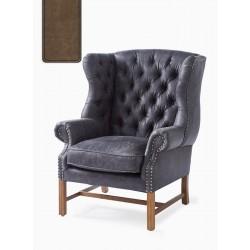 Franklin Park Wing Chair Pellini coffee / Rivièra Maison
