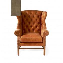 Franklin Park Wing Chair pellini camel / Rivièra Maison